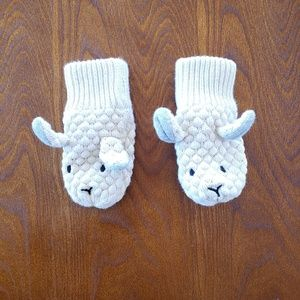 H&M Knit Baby Mittens